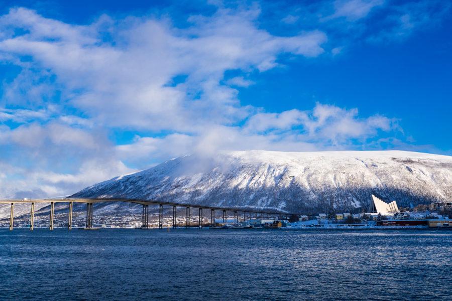 Il famoso ponte di Tromso e la cattedrale artica (Norvegia 2017)