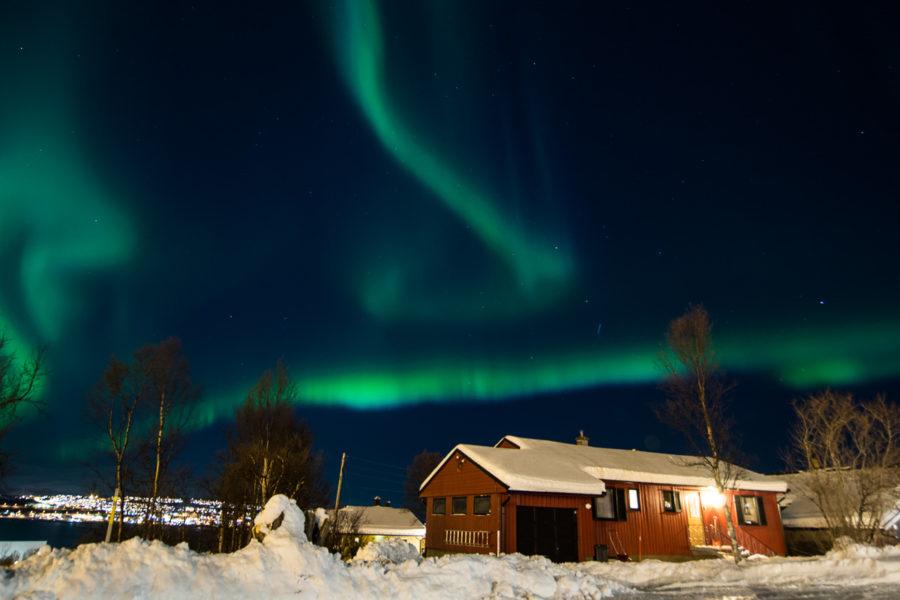L'aurora boreale (Tromso, Norvegia 2017)