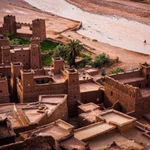 L'antica città di Ait Ben Haddou, spesso usata come set di numerosi film storici tra cui 'Il Gladiatore' (Marocco, 2010)