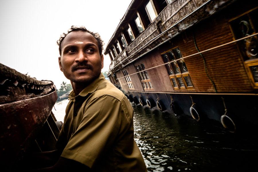Traghetti e houseboat sulle backwaters del Kerala (India 2015)