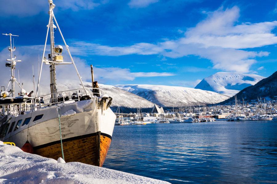 Il porto di Tromso (Tromso, Norvegia 2017)